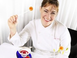 Gale Gand, pastry chef at Chicago's Tru Restaurant