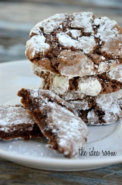 chocolate-crinkle-cookie-recipe | Sweet Things | Pinterest