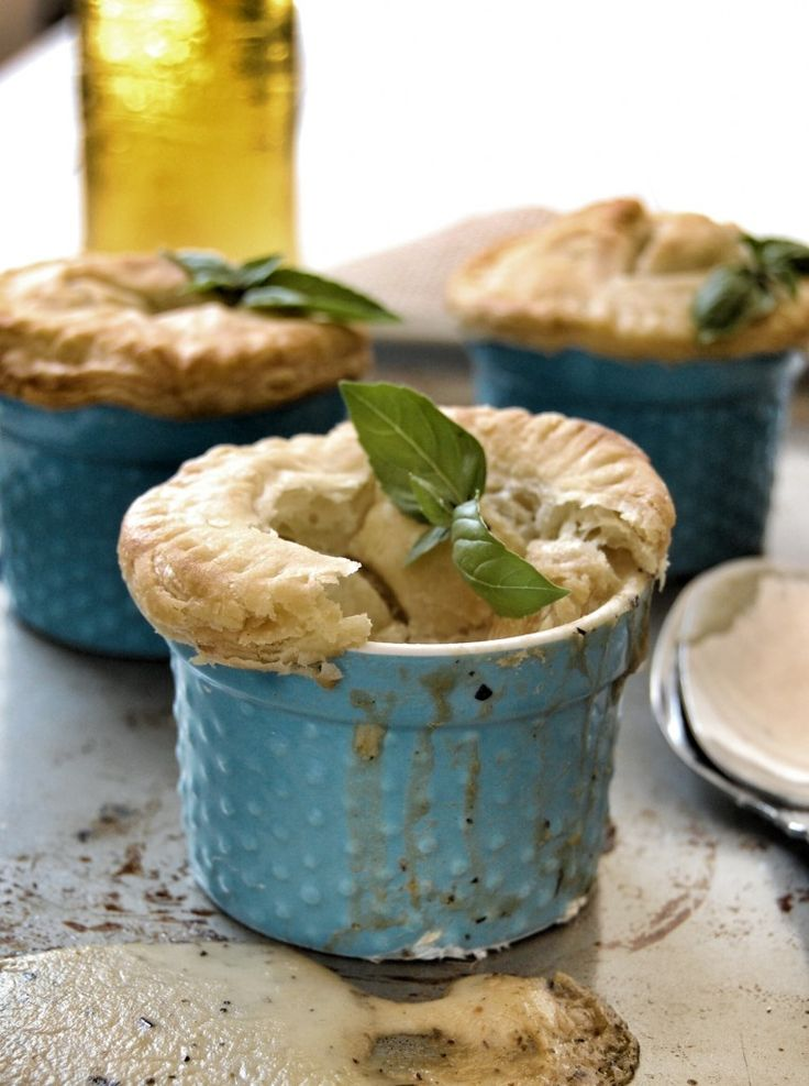 Vegetarian Pot Pies with white sauce...finally a pot pie recipe that ...