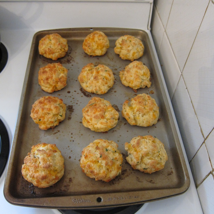 Savory herb and cheddar biscuits! | Recipes to try | Pinterest