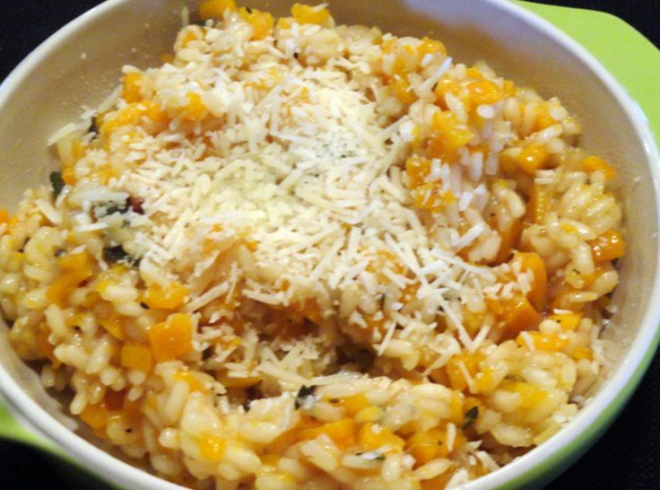 Butternut Squash Risotto ~ would make a yummy and healthy main or side ...