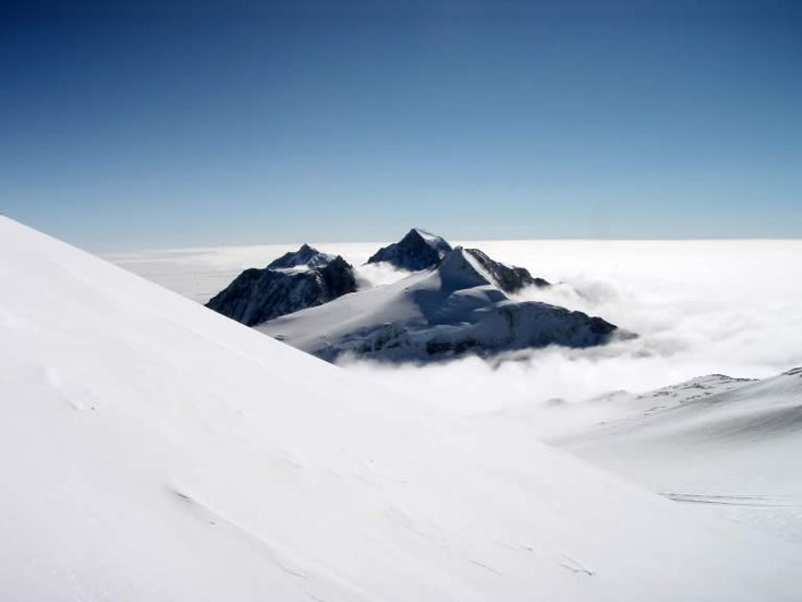 Vinson Massif in Antarctic