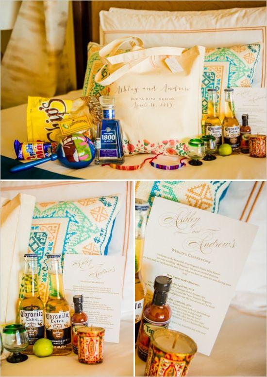 Welcome Gift Idea Mexico Wedding Pinterest