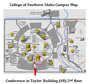 College Of Southern Idaho Map  Obsessed With Maps