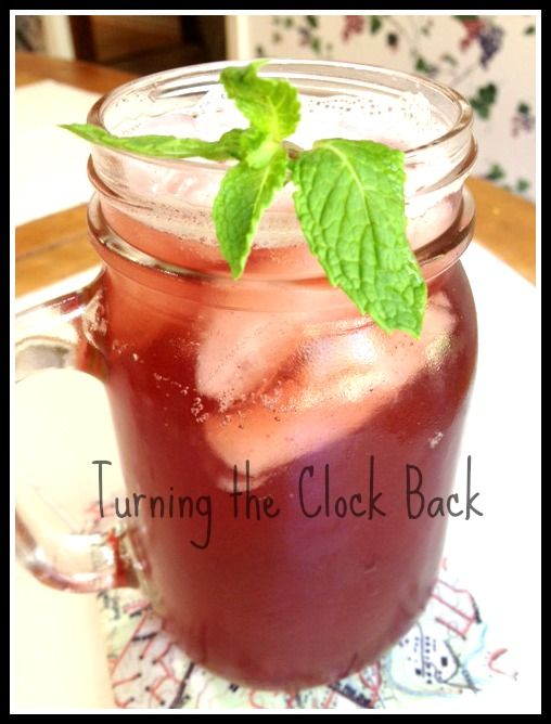 Homemade Soda: Grape, Pear and Honey natural soda #recipe Read more at ...