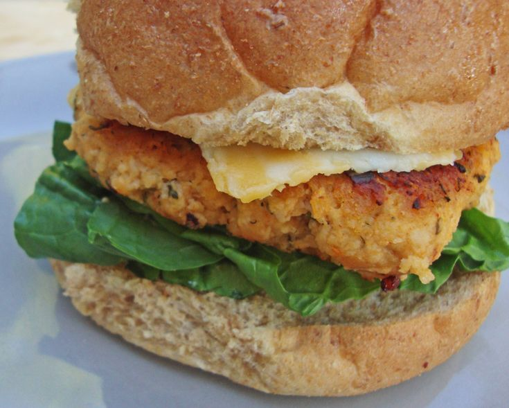 Buffalo-Ranch Chicken Burgers | Recipe