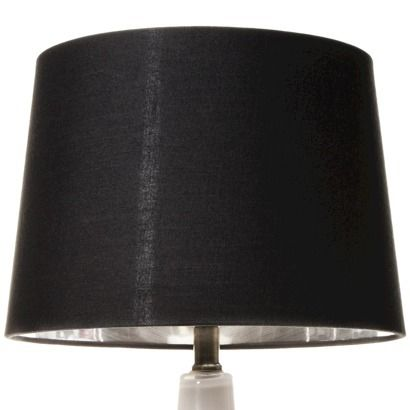 threshold silver lining lamp shade black medium 20 to go with. Black Bedroom Furniture Sets. Home Design Ideas