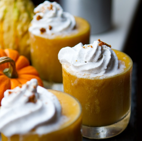 pumpkin smoothie | Drinks! | Pinterest