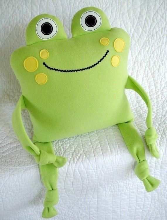 Подушка лягушка своими руками