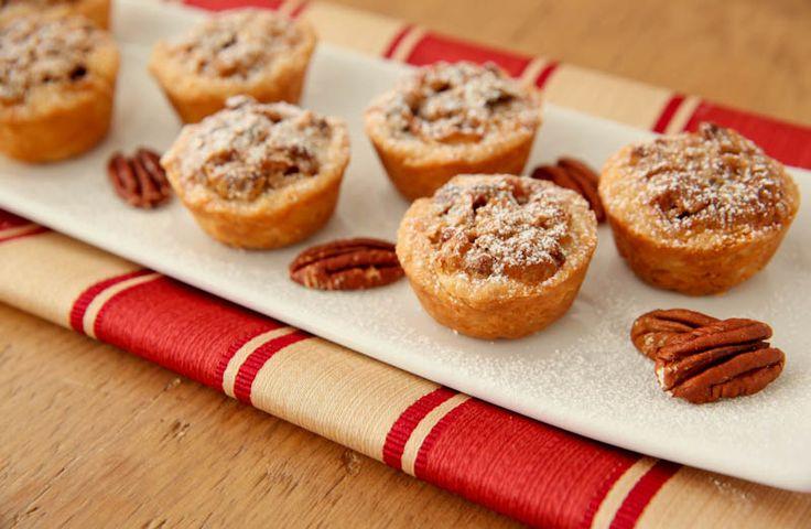 """Pecan Tassies"""" - These festive cookies look and taste like miniature ..."""