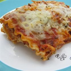 Easy Lasagna II Recipe - Allrecipes.com Made this for dinner the other ...