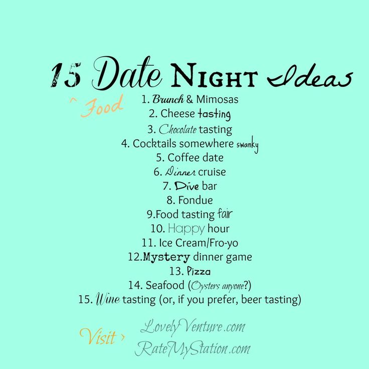 15 fun food date night ideas dates for married couples pinterest