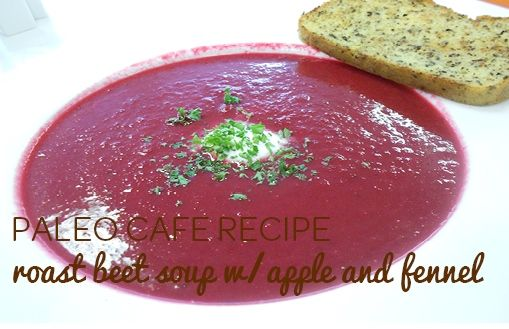 Roasted Beet And Fennel Soup Recipe — Dishmaps