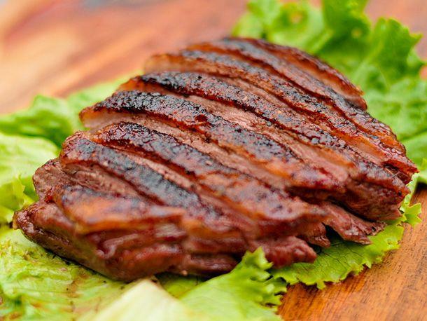 ancho rubbed turkey breast with cilantro habanero potato gratin ...