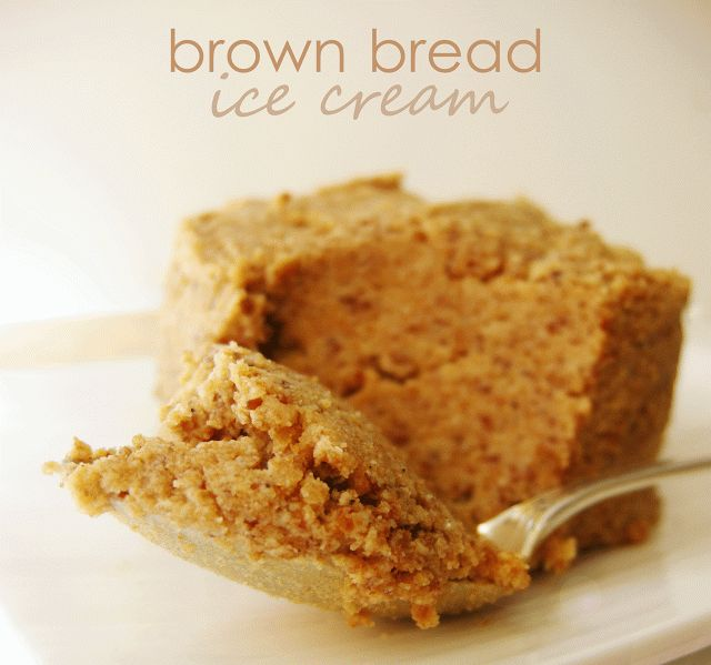 Brown bread ice cream | Helados | Pinterest