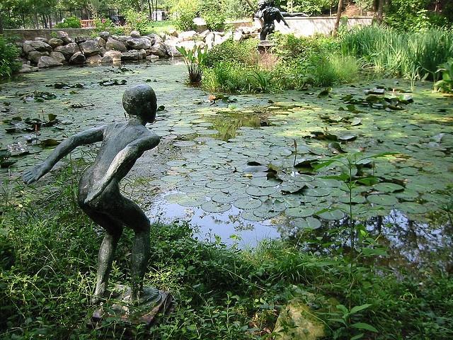 Umlauf Sculpture Garden Austin Tx I Should Paint This Pinterest