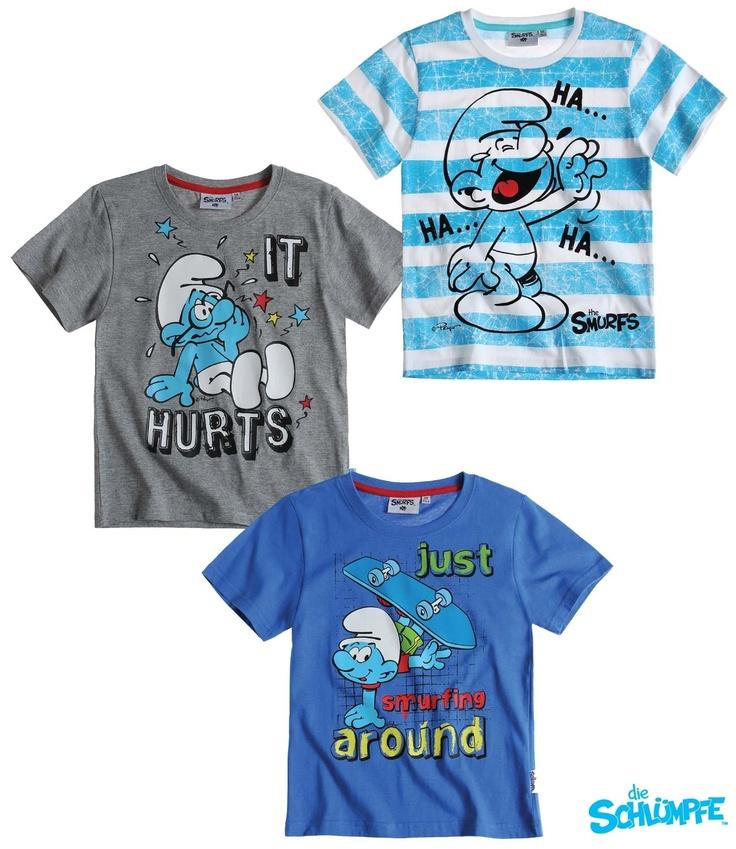 Smurfs t shirt brands pinterest