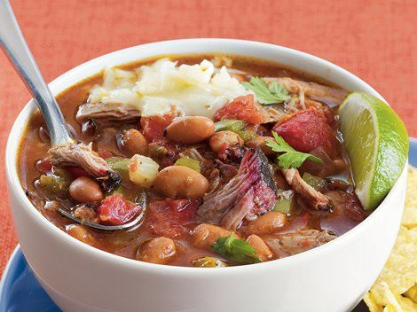 Pork and Pinto Bean Chili - Enjoy this chili that's made using pork ...