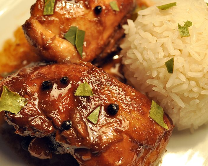 chicken adobo | Yummies | Pinterest