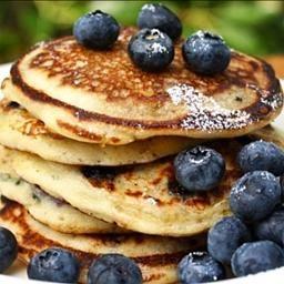 Blueberry Yogurt Pancakes | Pancakes and Waffles | Pinterest
