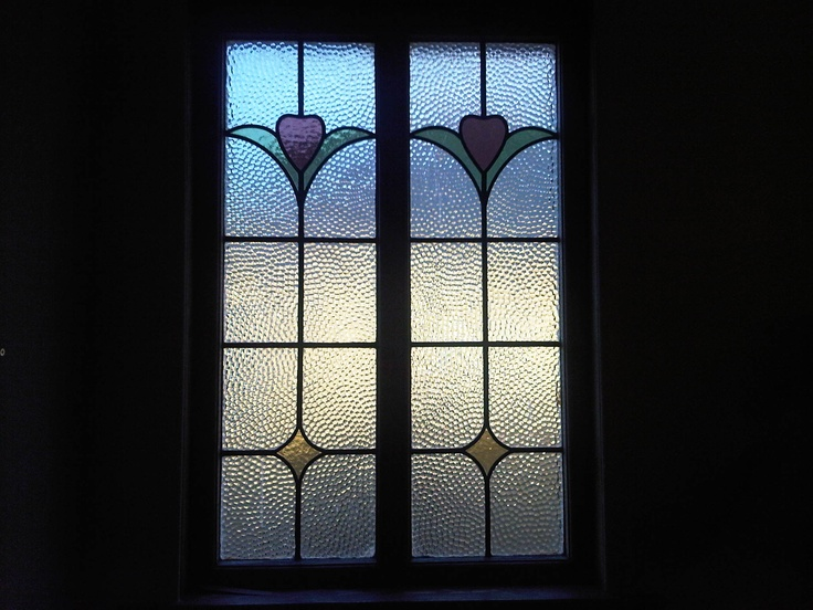 1930s stained glass house window windows pinterest for 1930s stained glass window designs