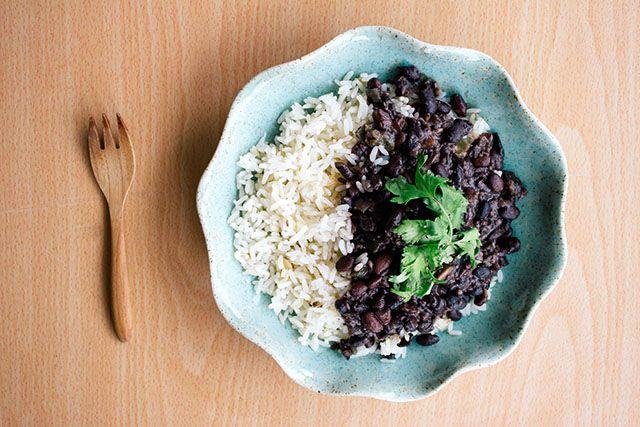 Frijoles Negros (Cuban Black Beans) // .wandercrush.