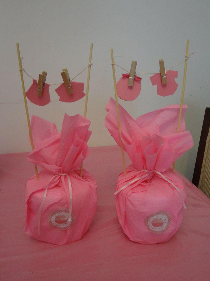 centros de mesa baby shower baby shower pinterest