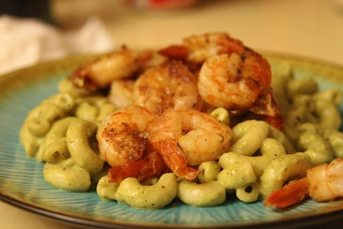 shrimp scampi pasta shrimp pasta salad goat cheese and shrimp pasta ...