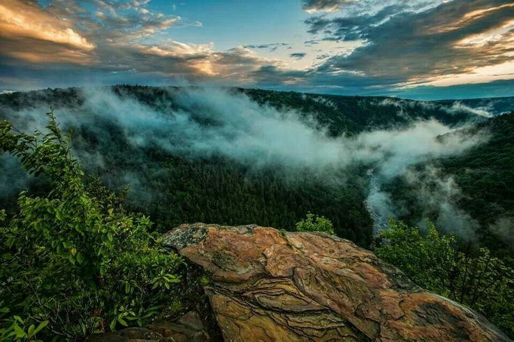 pendleton point  west virginia by randall sanger