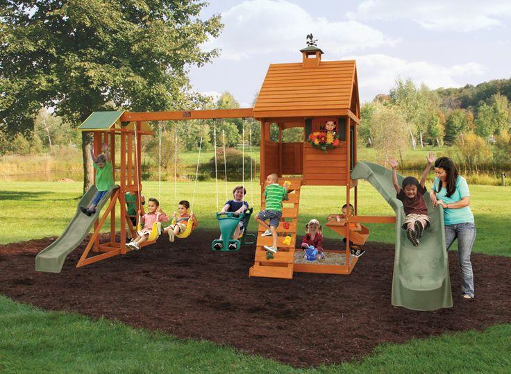 Big Backyard Daycare : Backyards