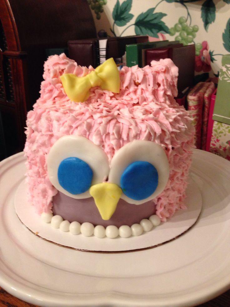Owl smash cake | 1st birthday | Pinterest
