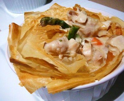 Little Mama's Light Chicken Pot Pies | Recipe