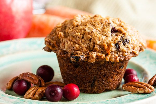 This morning glory muffins is big, hearty, and loaded with sweet ...