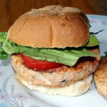 Salmon Rosemary Burgers | Food and Drink | Pinterest