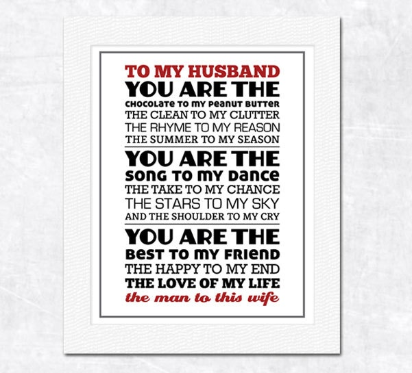 Perfect Pair Original Poem - Printable Anniversary Gift, Wedding Gift ...