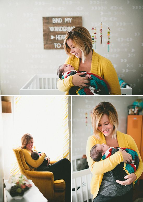 Clark's Nursery and Newborn Session
