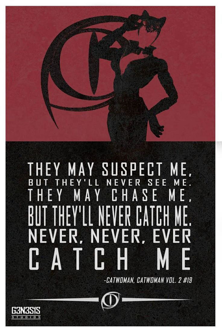 Catwoman Quotes And Sayings Quotesgram