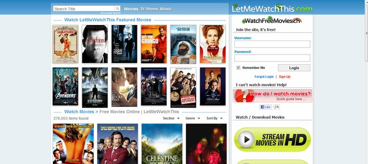 LetMeWatchThis | WatchFreeMovies.ch - Watch movies online ...
