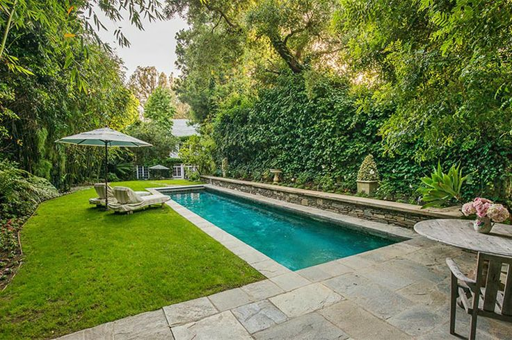 Narrow Backyard Pool : backyards