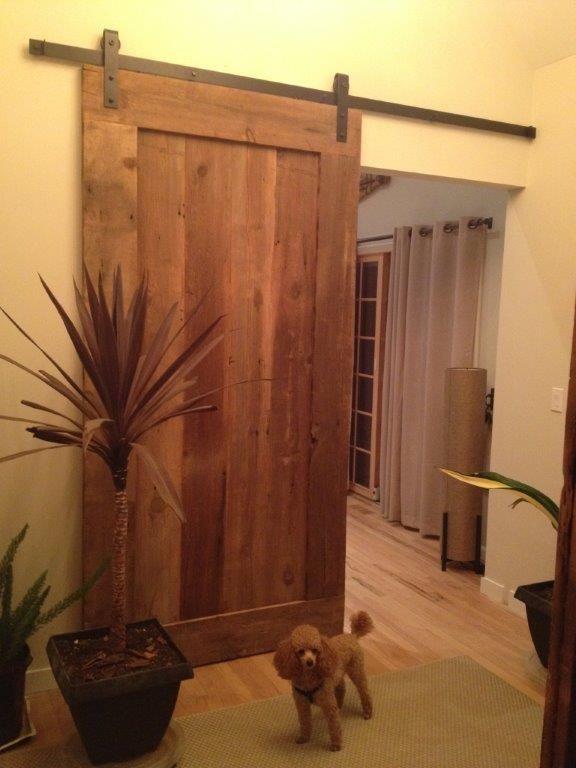 Custom made barn door reclaimed barn door ideas pinterest for Custom barn doors
