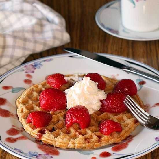 Start the New Year Right with Whole Wheat Waffles | Art of Natural ...