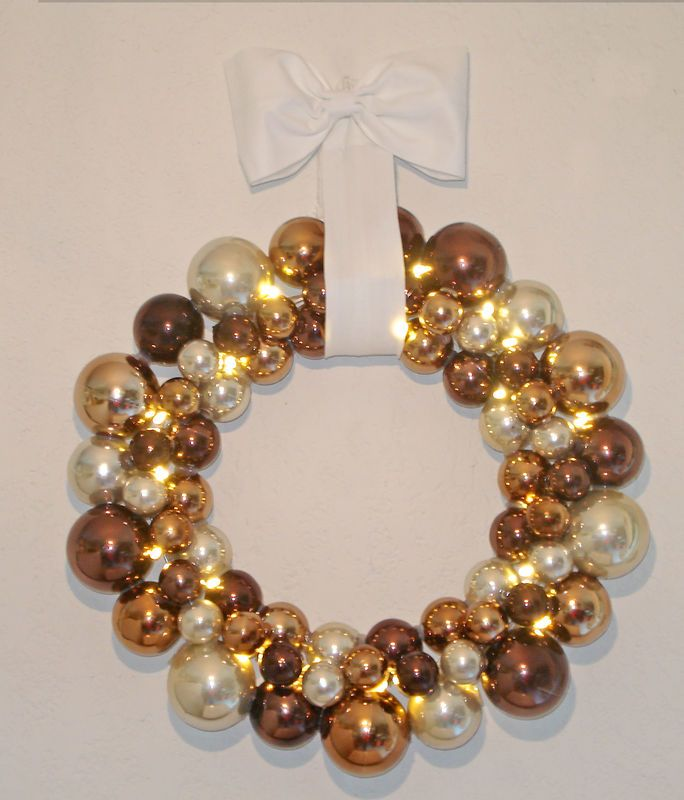 Fabriquer une couronne no l christmas weihnachten - Couronne de noel a fabriquer ...