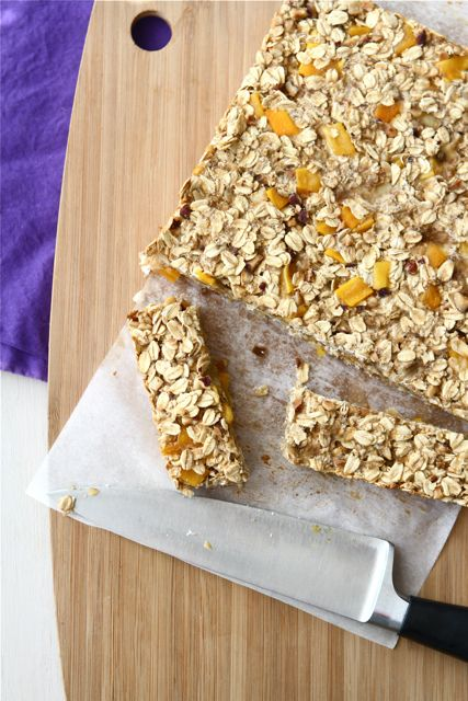 Low Fat Granola Bars with Mango, Hazelnut & Ginger Recipe by ...