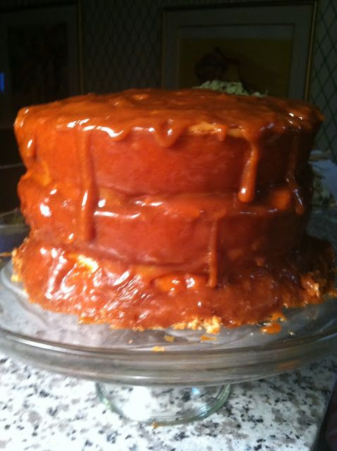 Old Fashioned Cake Icing