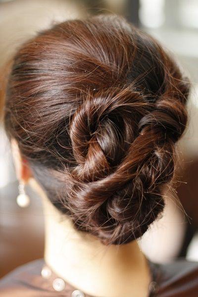 Hair tutorial -- Summer Updo #hairtutorial #summer #updo