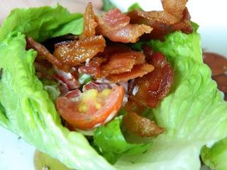 BLT lettuce wrap from SkinnyTaste | Recipes-main course | Pinterest