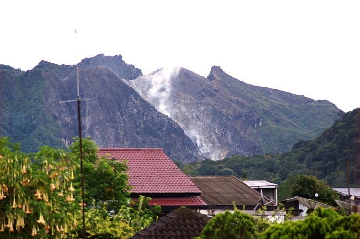 Berastagi, Sumatra, Indonesia
