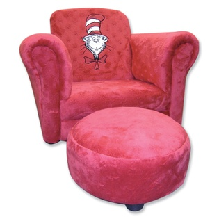 Cat in the hat red chair | Kids Room Ideas | Pinterest