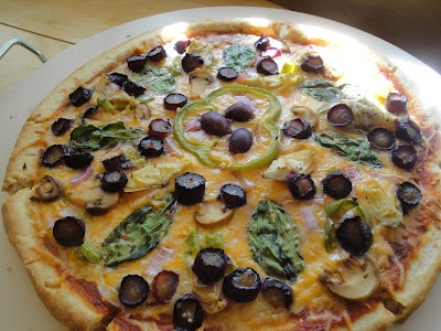 Grapes and the Garden Pizza Recipe. | Delicious Recipes | Pinterest
