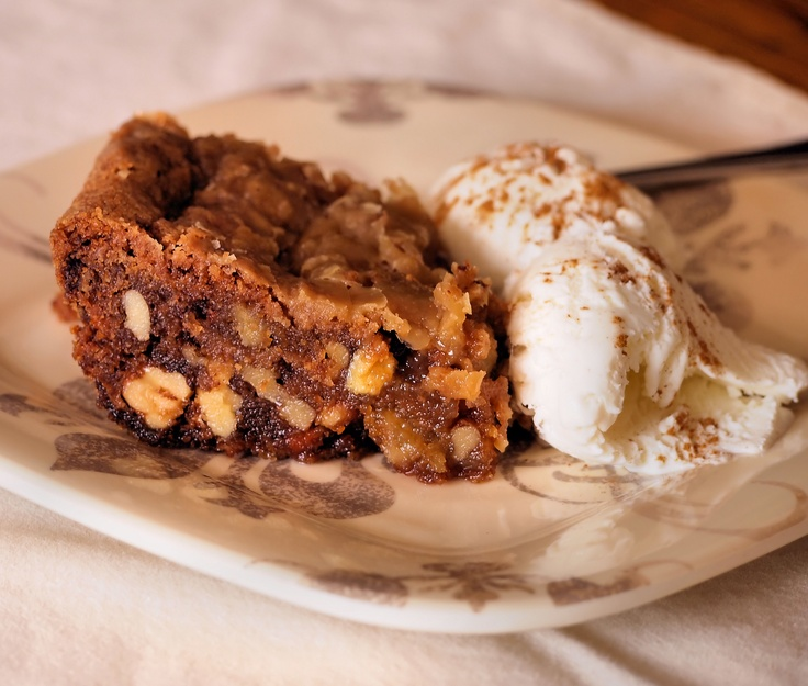 APPLE DAPPLE CAKE-Apples, walnuts, butterscotch chips baked into a ...